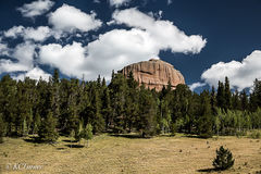 Photographic landscapes, Lost Park Wilderness, Pike National Forest, hiking