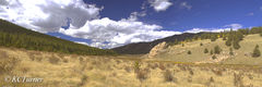 Lost Creek, Trail, panorama, Colorado Mountains, Photograph, South Park, Landscapes, Trails,