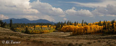 Lost Park Fall, panorama,  Colorado Mountains, photography, Lost Park, South Park, Landscapes, Trails
