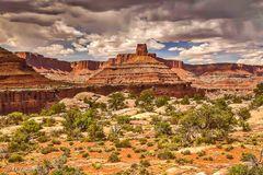 canyon spires, Kane Springs Canyon, Moab, Utah, landscape, photographer, dream, panorama