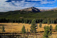 mount lincoln, boreas pass, Colorado, photographic, panorama
