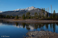 waterscape, landscape photography, captured, Dillon, Colorado, floating view, Quandry Peak, Breckenridge
