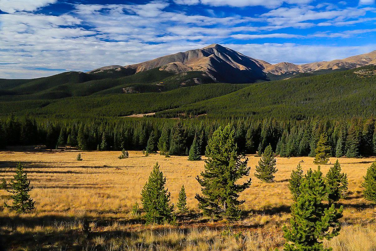 Mount Lincoln, Boreas pass, Colorado, photographic, panorama, photo