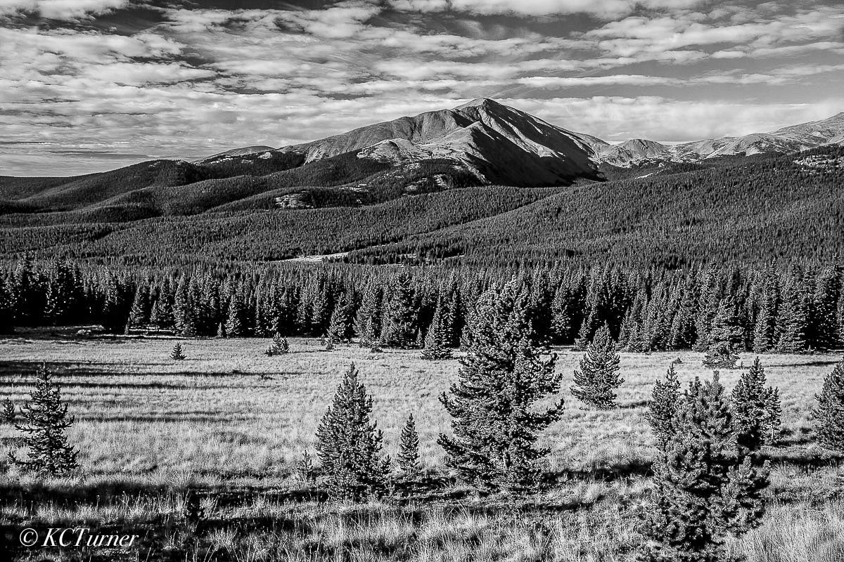 monochromatic prints, rich blacks, whites, silvers, photograph, Mount Lincoln, beautiful, fall, Colorado afternoon, shooting, landscapes, Boreas Pass, Breckenridge, photo