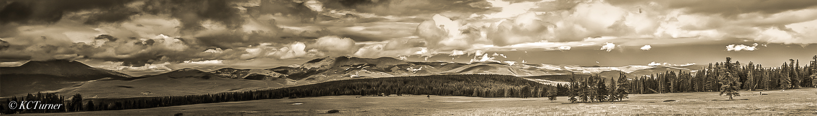 Panoramic, mesa, landscapes, Rio Grande National Forest, storm, high altitude vistas, fine art, photos, photo